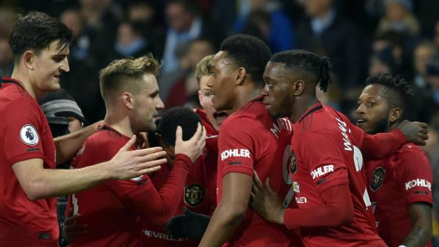 Man City 1-2 Manchester United - Highlights