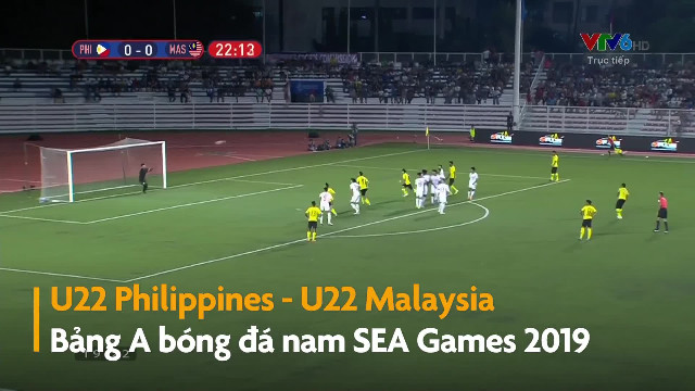 Highlights SEA Games 30 U22 Philippines 1-0 Malaysia