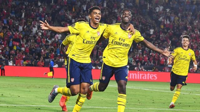 Eddie Nketiah can't stop scoring! - Fiorentina 0-3 Arsenal - International Champions Cup highlights