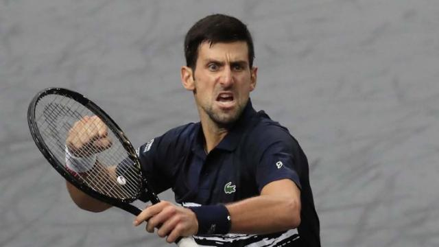 Novak Djokovic won 2019 Paris Title