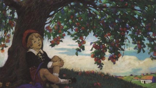 The Boy and The Apple Tree