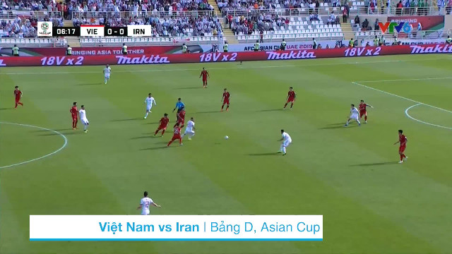 Highlights Asian Cup 2019 Việt Nam 0-2 Iran