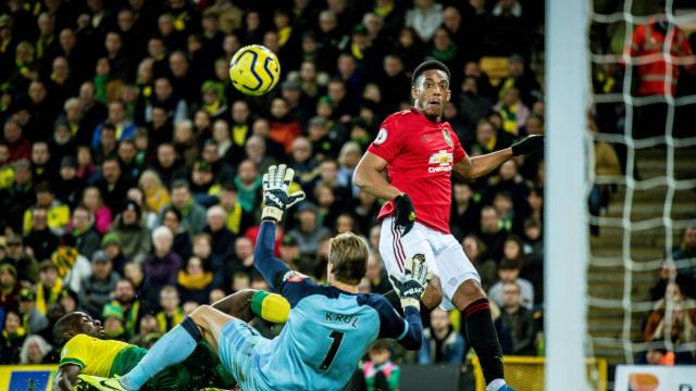 Norwich - Man United 1-3