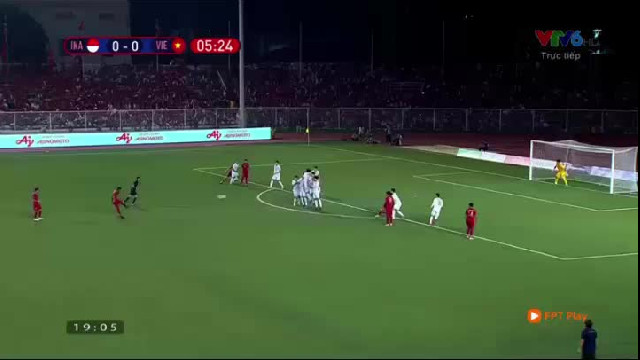 Video U22 Việt Nam vs U22 Indonesia 3-0 SEA Games 30 (1012)