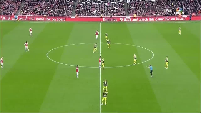 Arsenal - Southampton 2-2