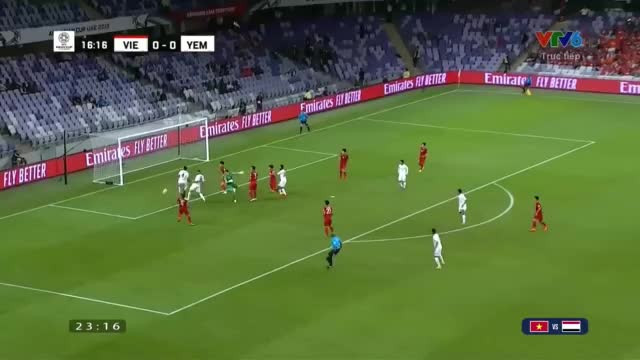 Highlights Asian Cup 2019 Việt Nam 2-0 Yemen