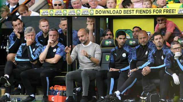 Norwich City - Man City 3-2